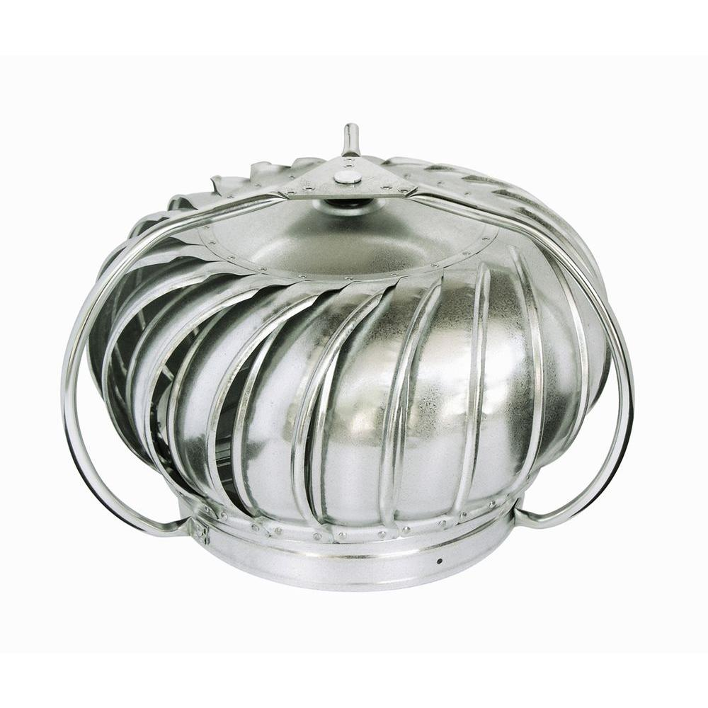 Master Flow 12 In Galvanized Externally Braced Replacement Turbine Head Gt12e The Home Depot
