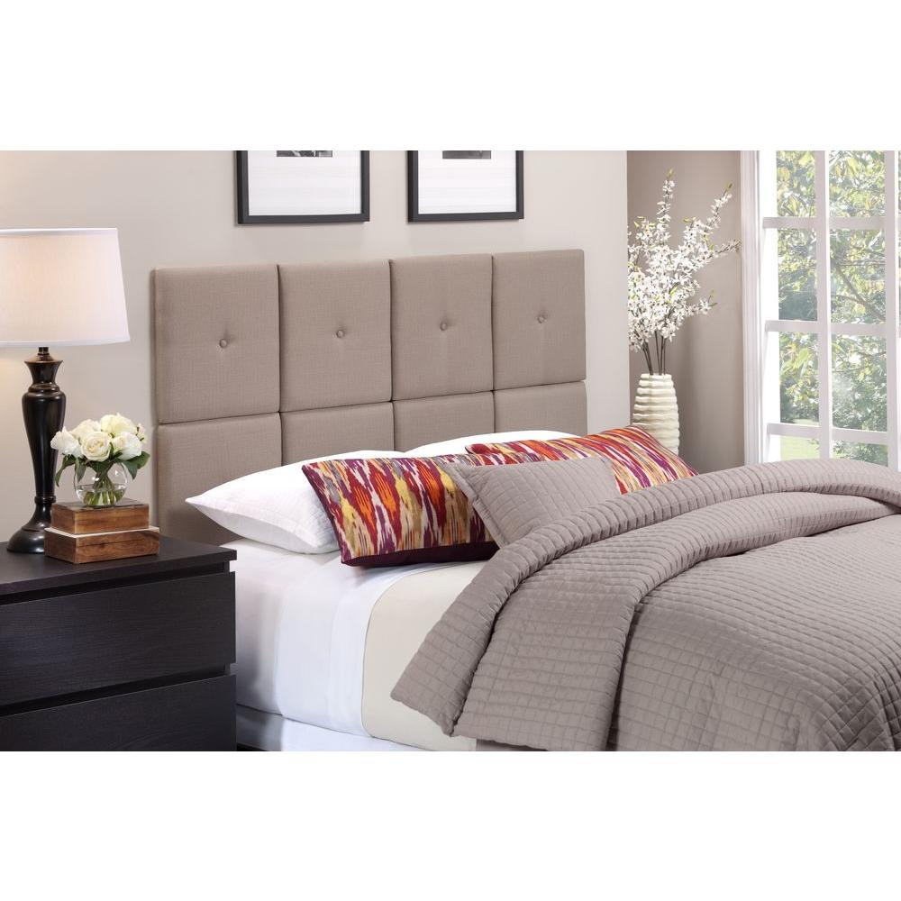High Quality Foremost Tessa Taupe Full/Queen Headboard
