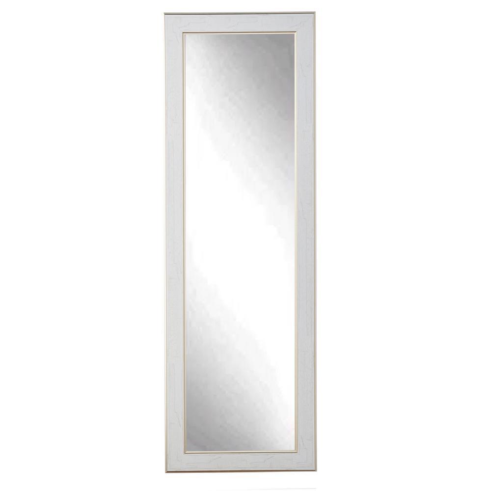 Gold Trimmed Legacy Slim Floor Mirror