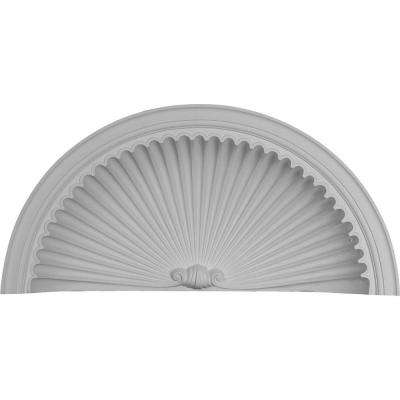 37-5/8 in. x 10-1/4 in. x 17-3/4 in. Primed Polyurethane Edwards Wall Niche Cap