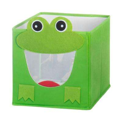 10 in. x 10 in. Collapsible Cube Frog