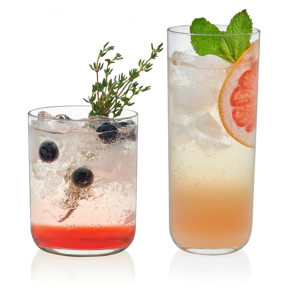 Lisbon 15.2 oz. 16-Piece Glass Drinkware Set