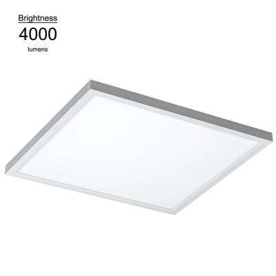 2ft. x 2 ft. White Commercial Integrated LED 5000K Dimmable Drop Ceiling Flat Panel Troffer Light (2 Pack)