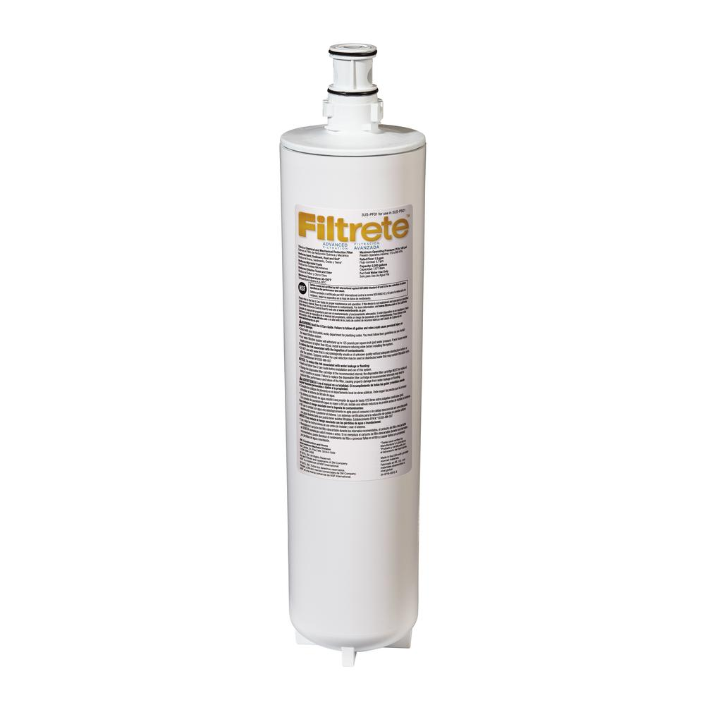 Filtrete Advanced Under Sink Water Filtration Filter 3us Pf01 The Home Depot
