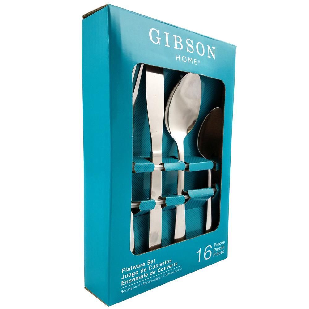 Gibson Minetta Lane 16-Piece Flatware Set 985100074M