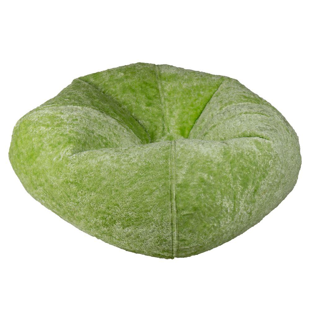 Lime Chenille Bean Bag
