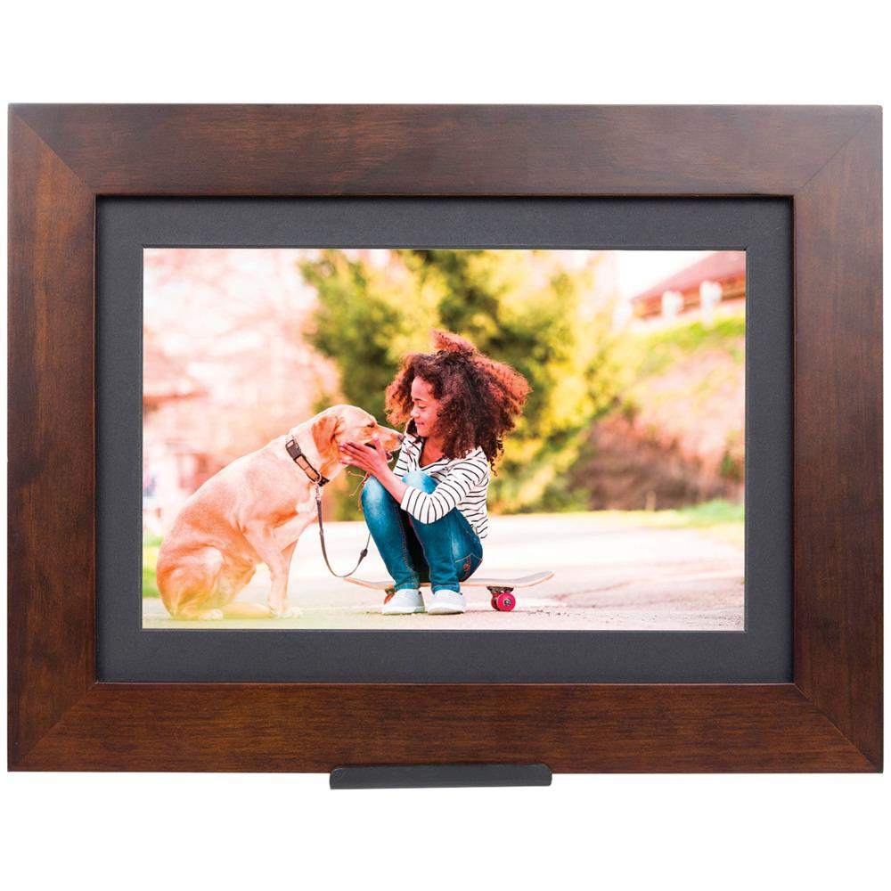 Brookstone PhotoShare Friends and Family Cloud Frame (10.1-Inch), Brown was $179.99 now $109.99 (39.0% off)