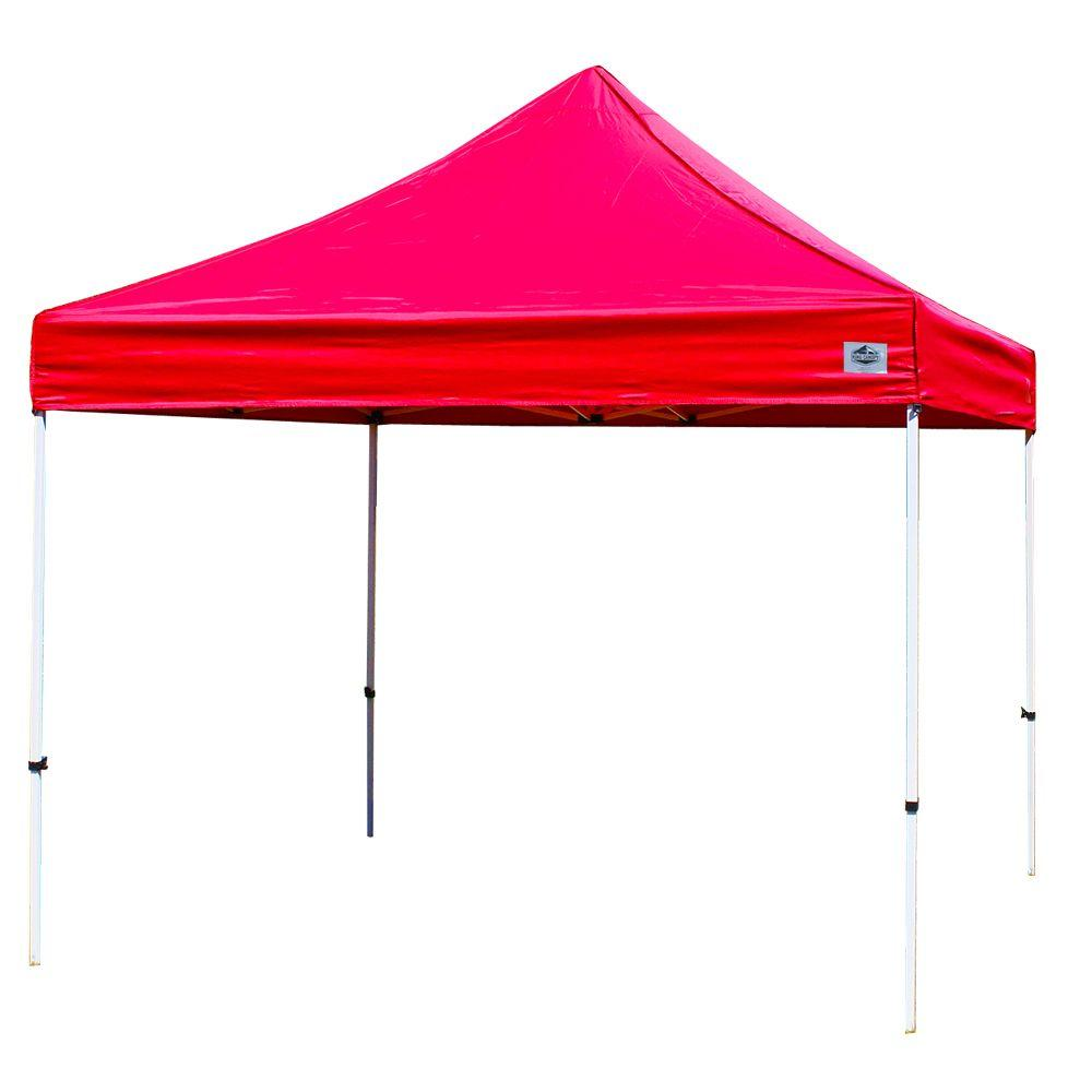 King Canopy Festival 10 foot W x 10 foot D Instant Canopy in Red