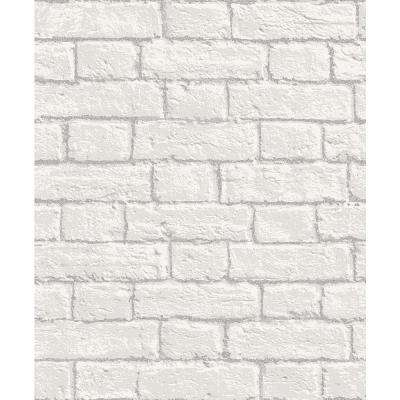 8 in. x 10 in. Ditmas White Brick Sample