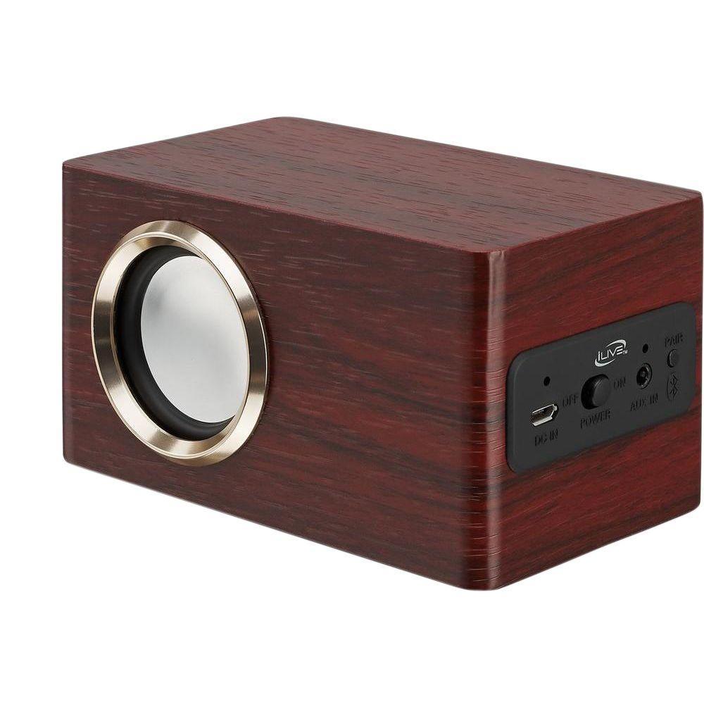 DPI Portable Bluetooth Wireless Speaker, Rosewood