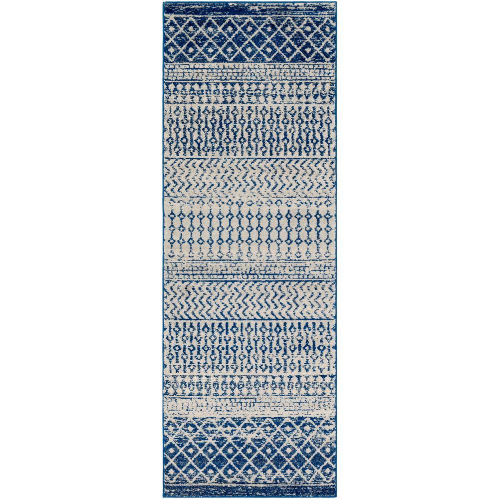 Artistic Weavers Alois Dark Blue/Grey 2 ft. 7 in. x 7 ft. 6 in. Runner Rug was $120.0 now $47.3 (61.0% off)