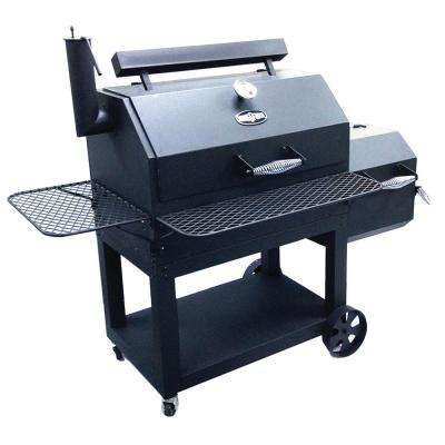 Stockade 49 in. Charcoal Grill in Dark Grey