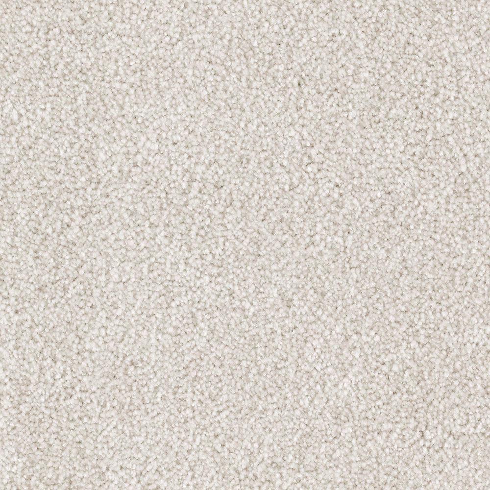 Silver Mane II - Color Quiet Taupe Texture 12 ft. Carpet