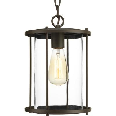 Gunther Collection Antique Bronze 1-Light Outdoor Hanging Lantern