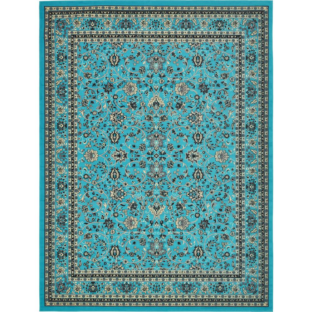 Nuloom Crandall Turquoise Area Rug Reviews: NuLOOM Crandall Turquoise 7 Ft. 10 In. X 9 Ft. 6 In. Area