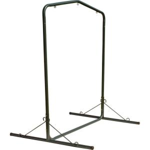 Pawleys Island 5.5 ft. Green Textured Large Steel Swing Stand by Pawleys Island