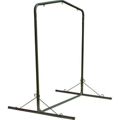 5.5 ft. Green Textured Large Steel Swing Stand