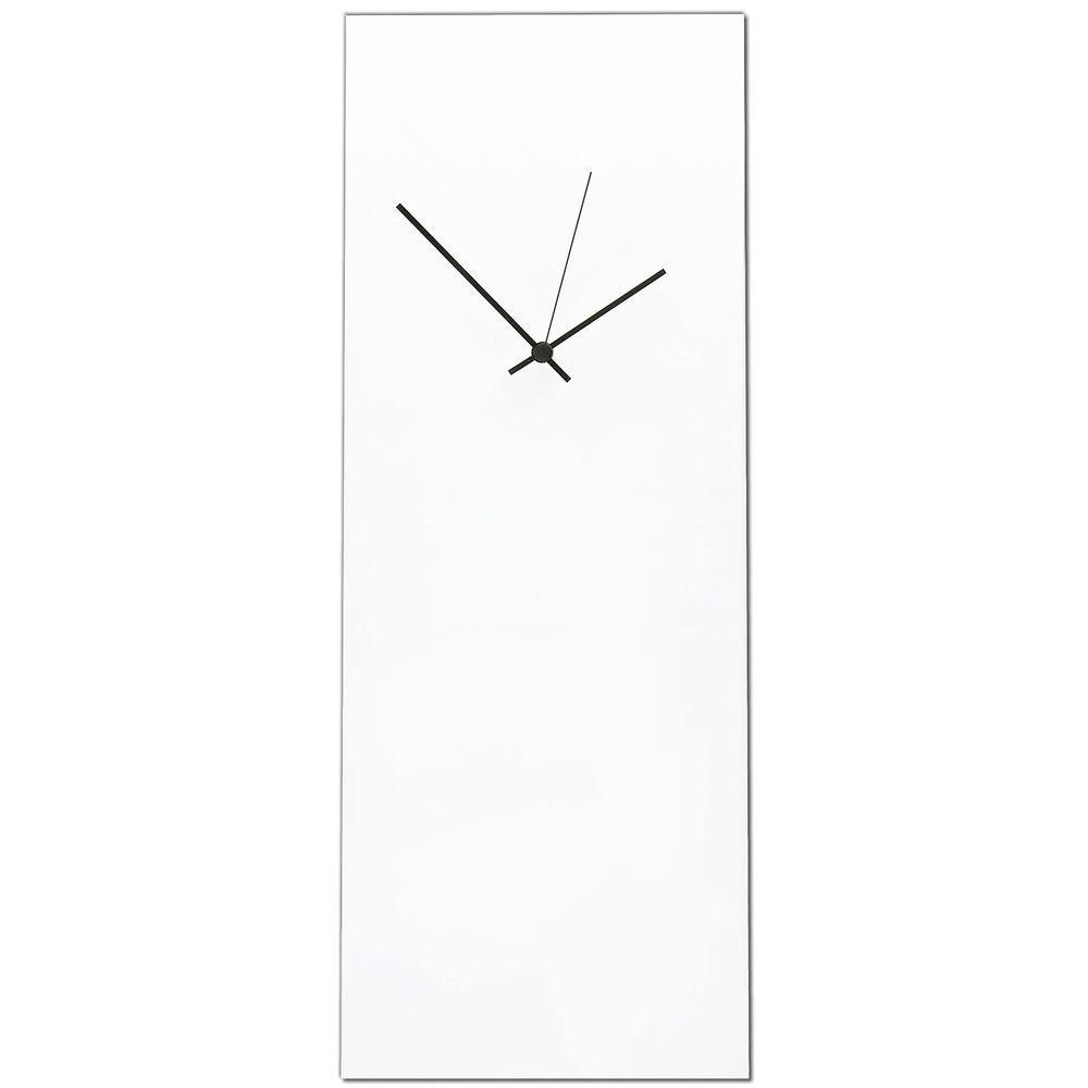 Filament Design Brevium 22 in. x 8.25 in. Modern Wall Clock