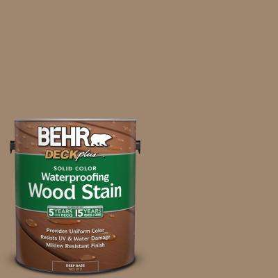 1 gal. #700D-5 Toffee Crunch Solid Color Waterproofing Wood Stain