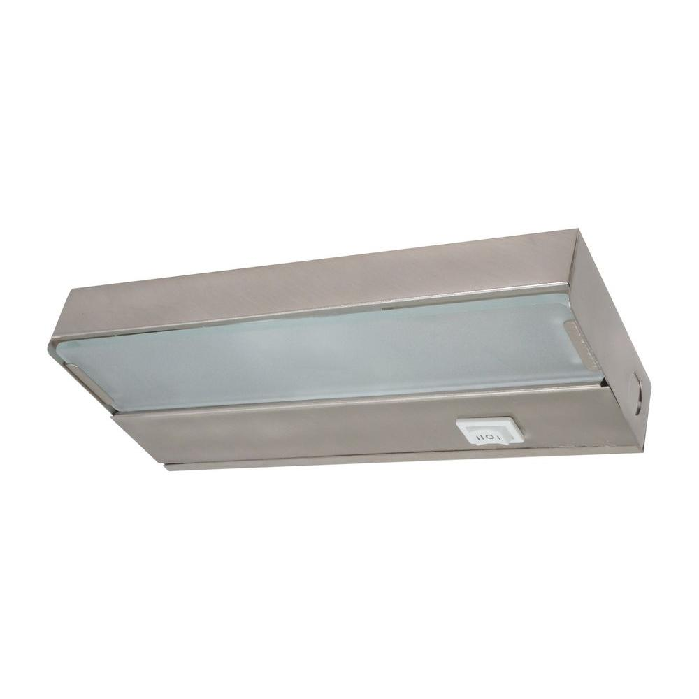 8 in. Xenon Pewter Low Profile Under Cabinet Light Fixture-10350PW - The Home Depot