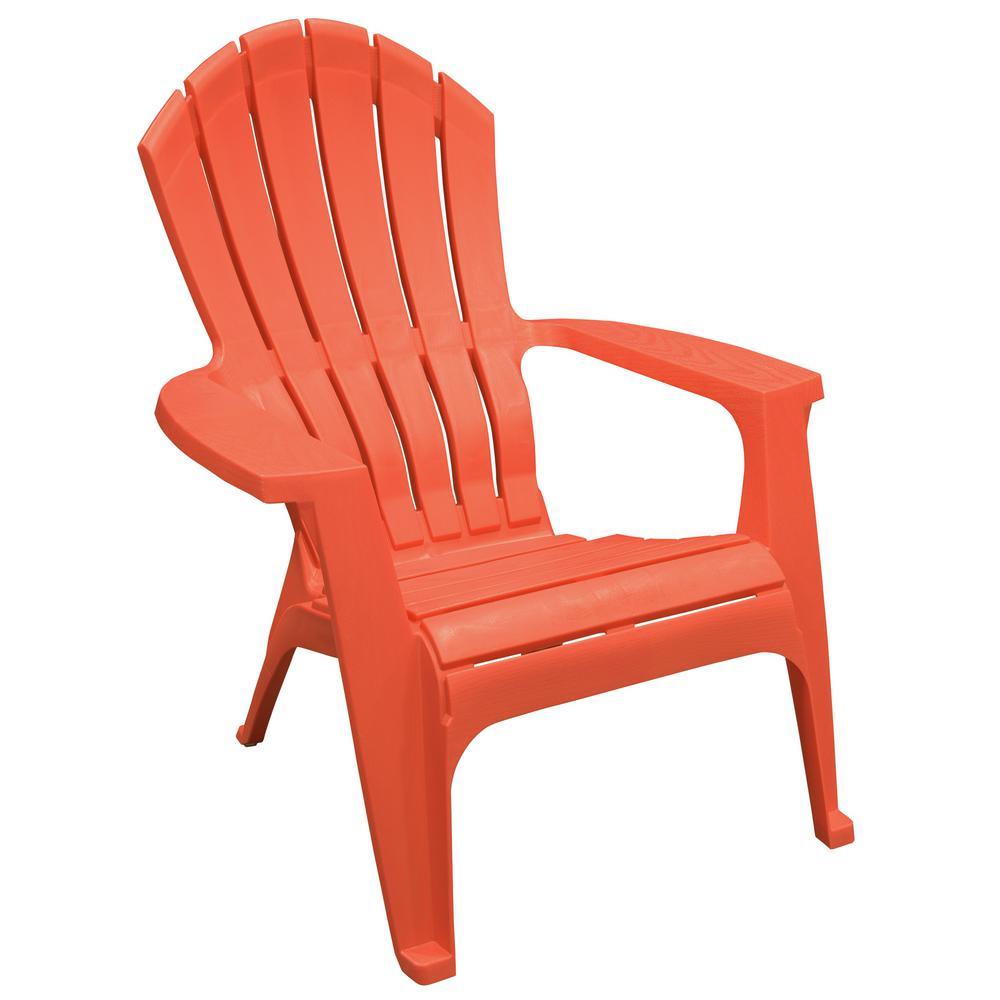RealComfort Carnival Resin Plastic Adirondack Chair