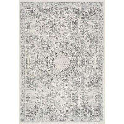 Vintage Minta Grey 8 ft. x 10 ft. Area Rug