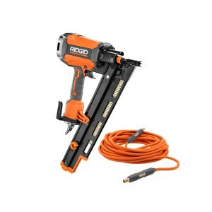 Ridgid 30 To 34 Degree 3 1 2 In Clipped Head Framing Nailer R350chd The Home Depot