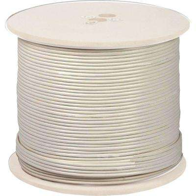 1000 ft. 18 AWG In-Wall Fire Rated Cable - White
