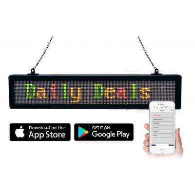Bluetooth LED Scrolling Message Sign