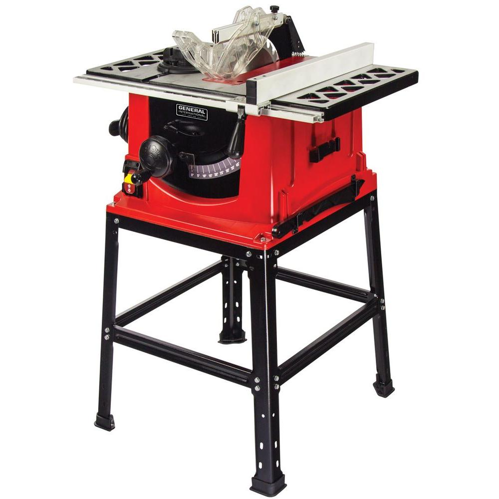 General international 13 amp 10 in table saw with stand ts4001 general international 13 amp 10 in table saw with stand greentooth Gallery