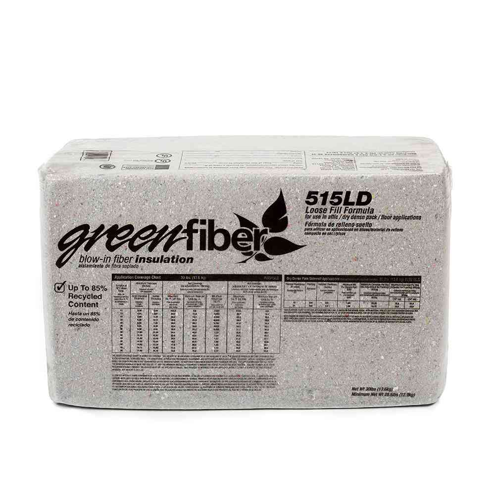 Greenfiber Low Dust Cellulose Blown-In Insulation 30 lbs. - Sale: $432.63 USD (15% off)