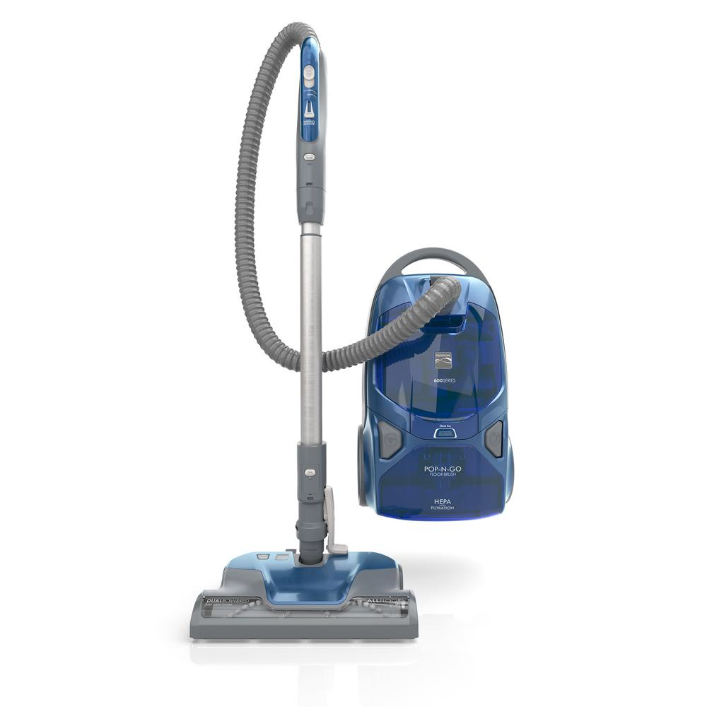 Pet Friendly Pop-N-Go Bagged Canister Vacuum Cleaner