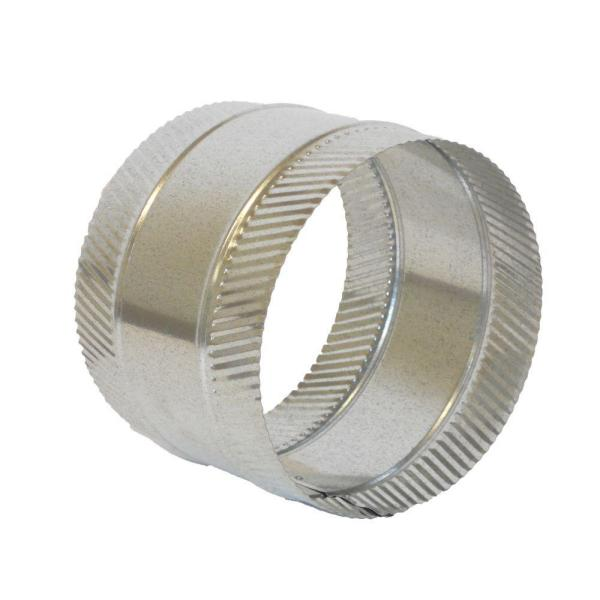 8 in. Flex and Sheet Metal Duct Splice Connector Collar