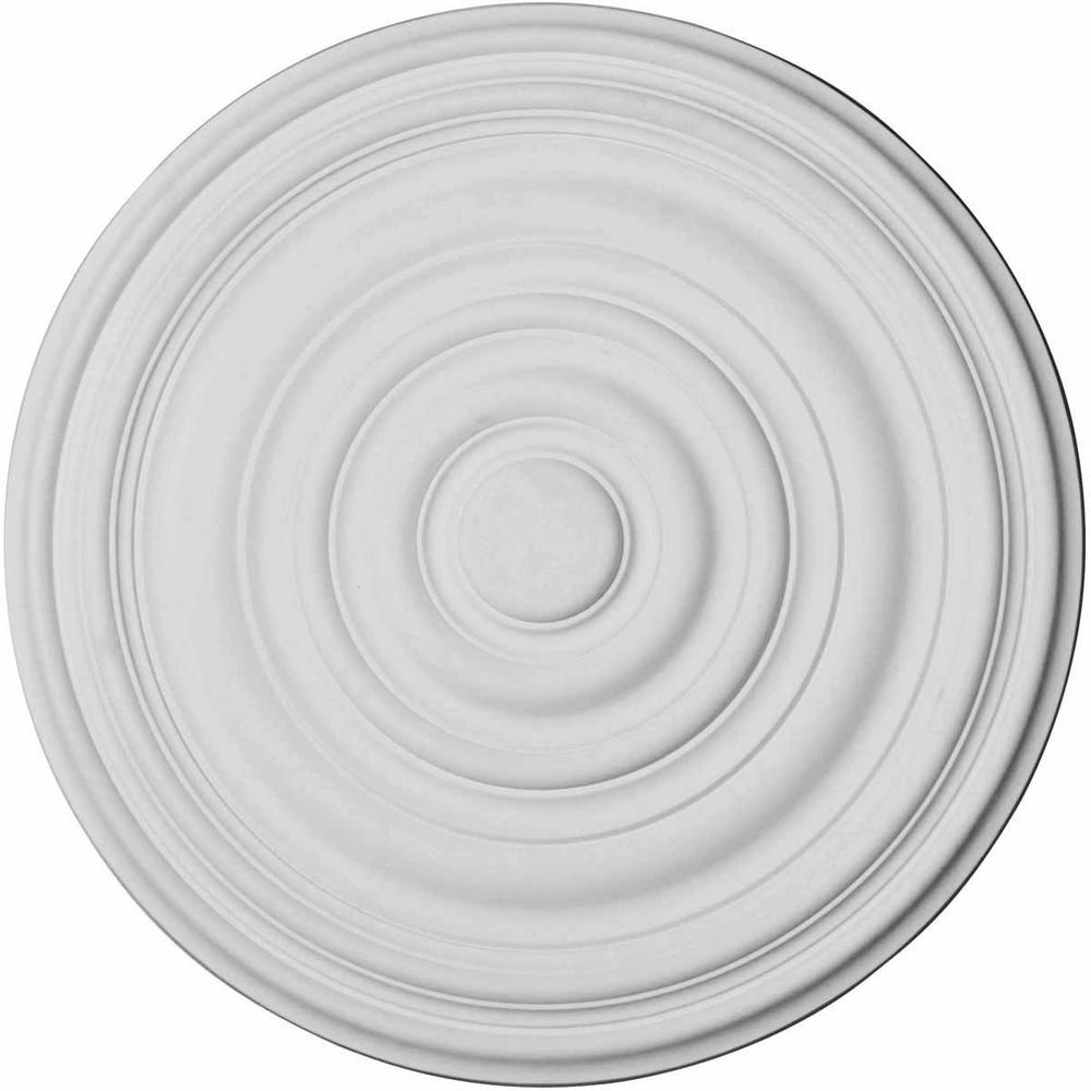 17-3/4 in. O.D. x 1-3/8 in. Carton Ceiling Medallion