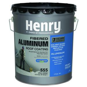 555 Premium Aluminum Roof Coating (16 Piece) HE555072   The Home Depot