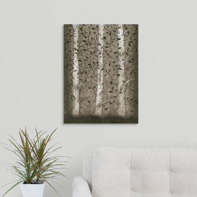 "18 in. x 24 in. ""Intertwine I"" by  Tim O'Toole Canvas Wall Art"