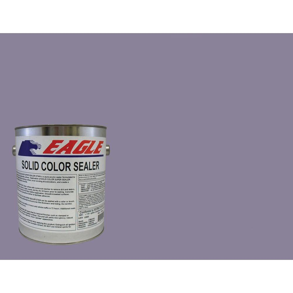 Eagle 1 gal. Twilight Solid Color Solvent Based Concrete Sealer