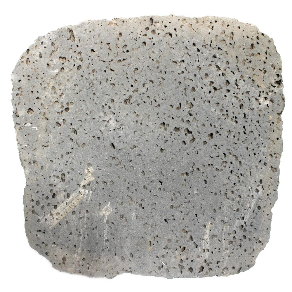 12 in. x 1.5 in. Brushed Puka Lava Stone Paver