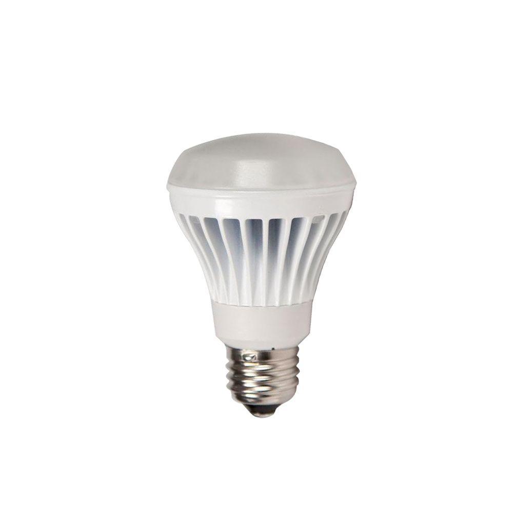 EcoSmart 50W Equivalent Bright White (3000K) BR20 LED Flood Light Bulb