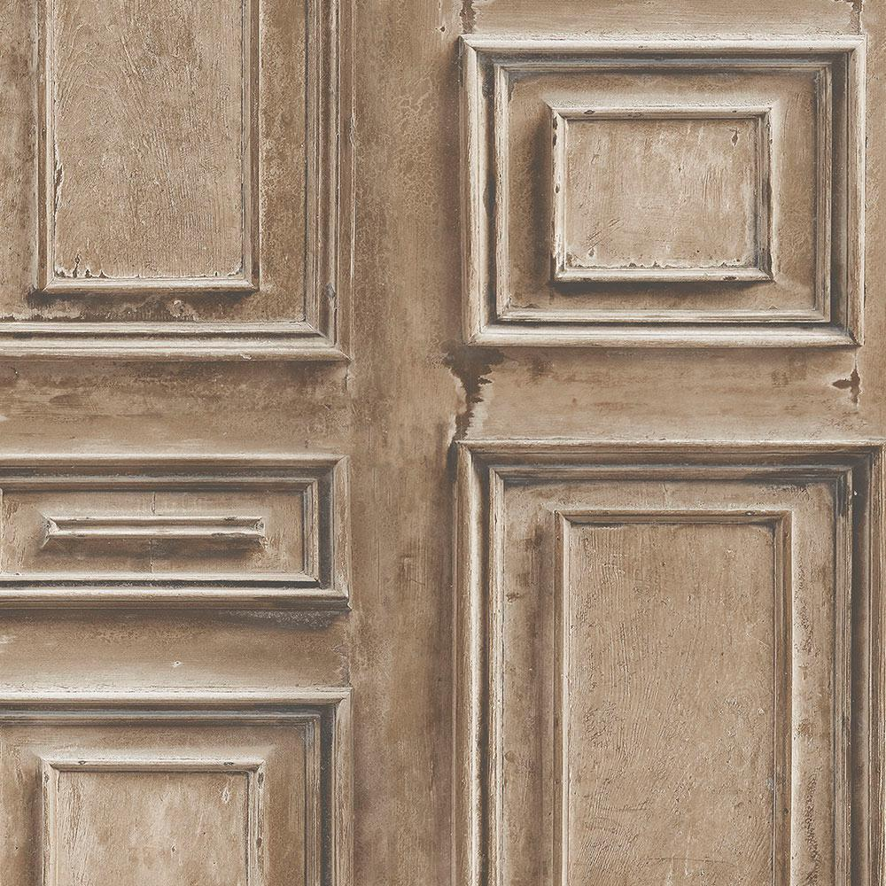 Norwall wood panel wallpaper ll36212 the home depot for Panel wallpaper