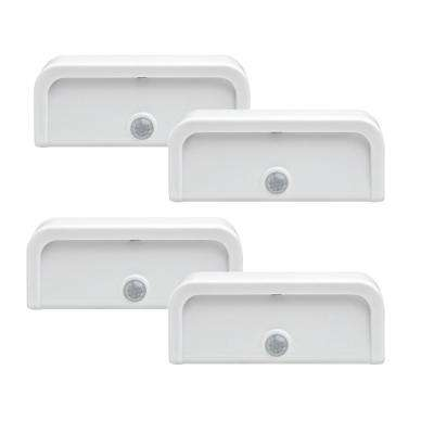 Mini Stick Anywhere Motion Activated Night Light (4-Pack)