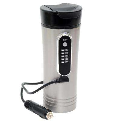 12-Volt 15 oz. Premium Heated Travel Mug