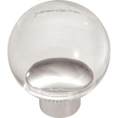 Midway 1-1/4 in. Lucite Cabinet Knob