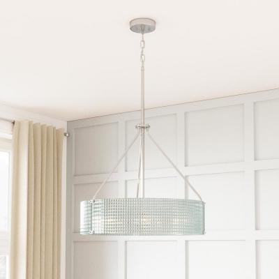 Westlyn 4-Light Brushed Nickel Pendant