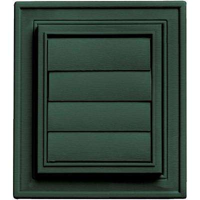 Square Exhaust Siding Vent #028-Forest Green