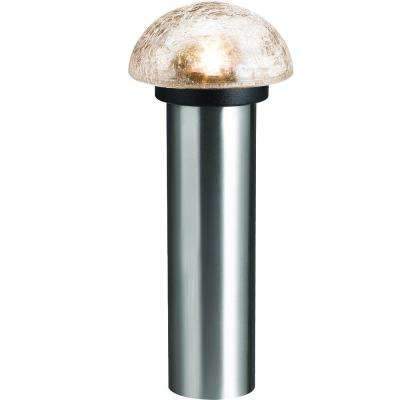 Stainless Steel Outdoor Integrated LED Landscape Path Light (6-pack )