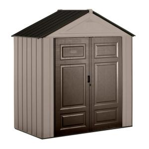 Rubbermaid Big Max Junior 3 ft. 5 inch x 7 ft. Storage Shed by Rubbermaid