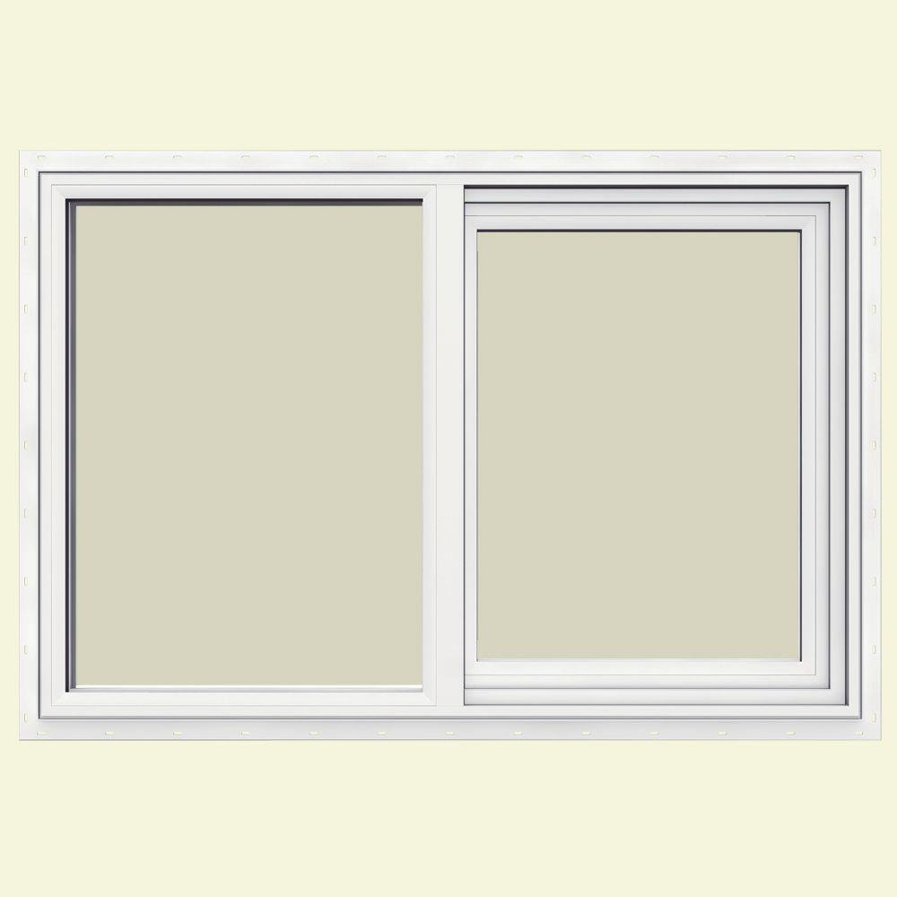 35.5 in. x 23.5 in. V-1500 Series Left-Hand Sliding Vinyl Window