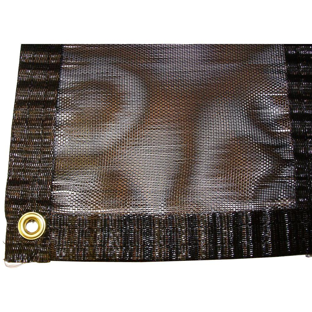 Riverstone 12 ft. x 25 ft. Shade Cloth System with Corner...