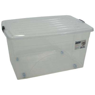 Rolling Storage Containers Storage Organization The Home Depot